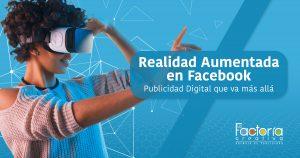 Realidad aumentada en facebook