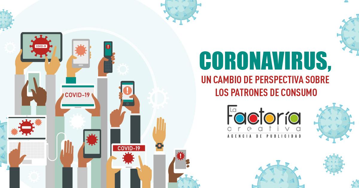 Coronavirus y patrones de consumo