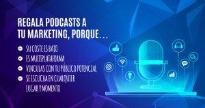 Los beneficios del podcasts