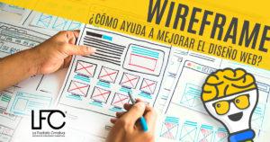 Wireframe para estructura web