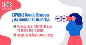 Google discover beneficios