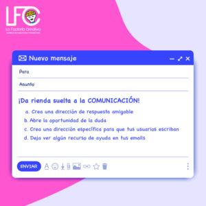 Email noreplay y comunicación
