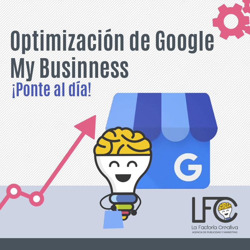 Optimización de Google My Business ficha